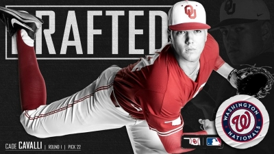 OU Baseball: Cade Cavalli Selected in First Round of MLB Draft
